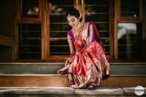 South Indian Wedding Bridal Look