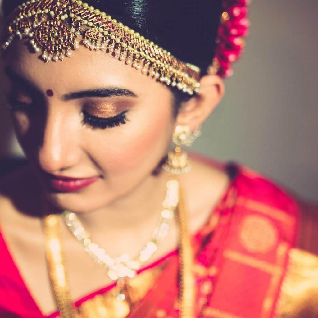 Stunning South Indian Wedding Bridal Look